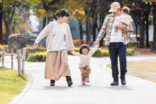 Neue Vaterrolle in einer japanischen Famile